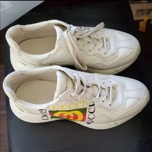 Gucci Rhython Leather Sneakers